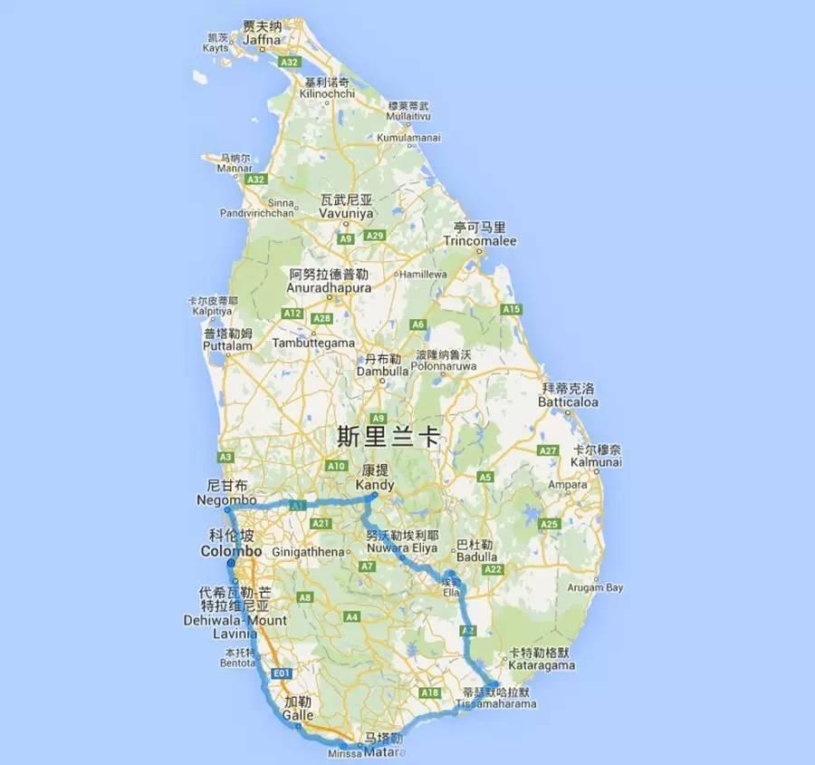 攻略 斯里兰卡,宫崎骏笔下的海上小火车图片