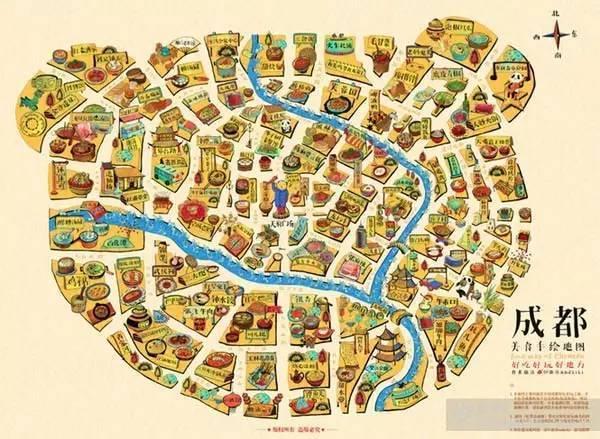 鼓浪屿旅游手绘地图