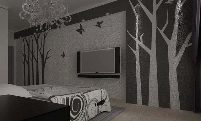 硅藻泥客厅装修效果图 让客厅装修多一种选择!