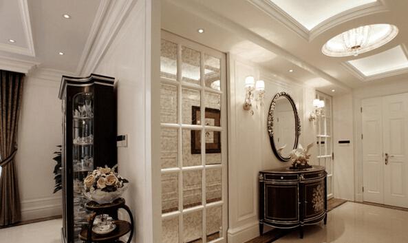欧式古典风格的镜子