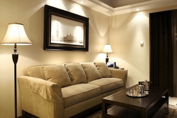自由随性 美式风格之沙发背景墙图片