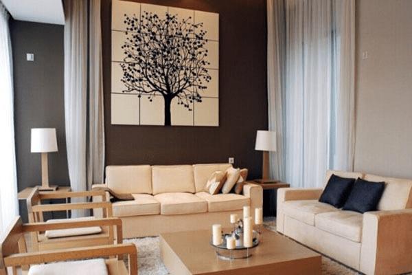 自由随性 美式风格之沙发背景墙