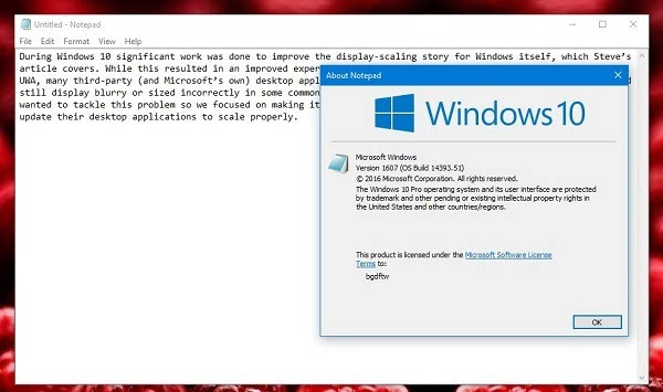 Windows 10周年更新改善了高DPI缩放支持:但开发者仍需努力的照片