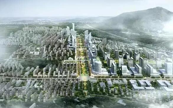 商业上,未来红山动物园旁将建一个20万方的地下商业街.