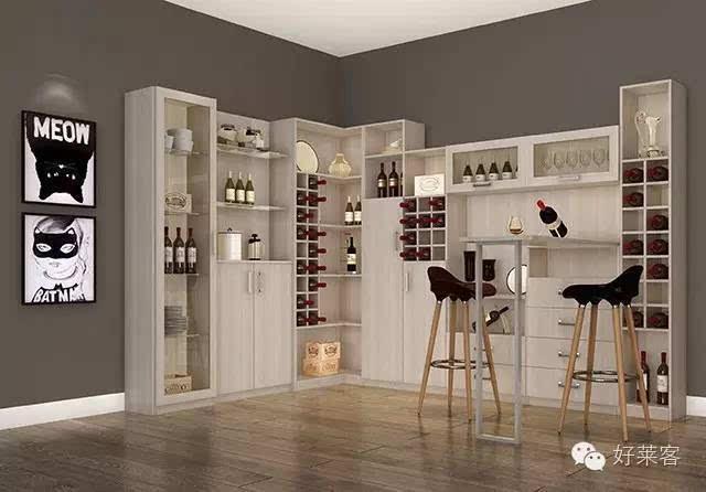 家里的酒柜吧台,休闲品位空间