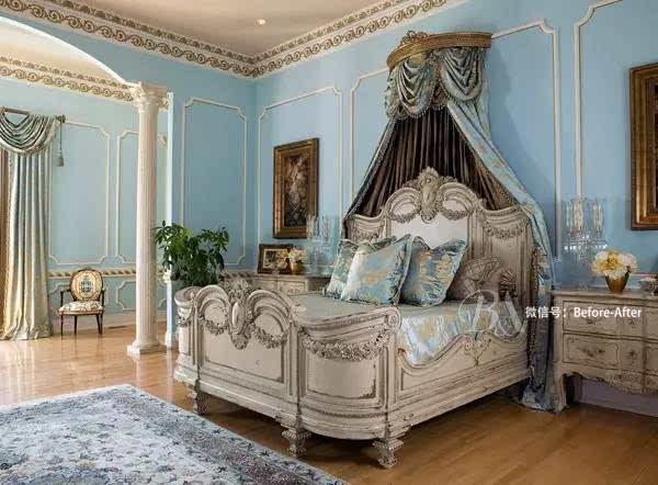 金碧辉煌欧式卧室装修