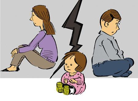 父母警醒!闹离婚别把孩子当牺牲品