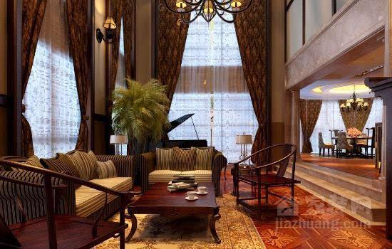 中式家具遇上欧式装修风格