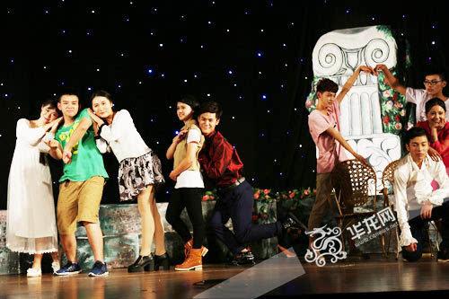 本土话剧 星光里的朱丽叶 入围第五届中国校园戏剧节
