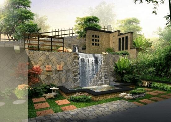 庭院深深 别墅庭院设计图