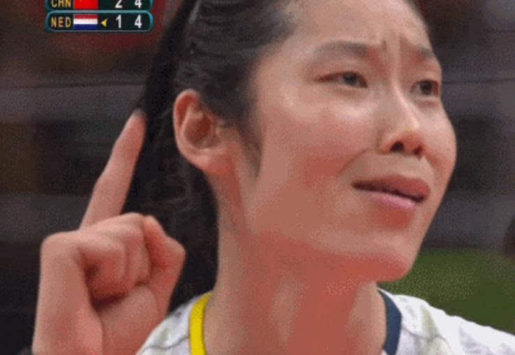 奥运军团再添表情包 中国女排主攻手朱婷表情爆红
