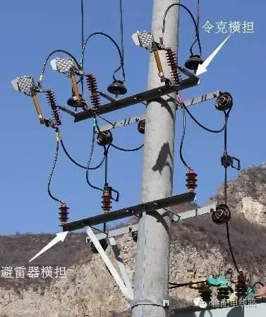 图文详解配电线路中常用的横担,抱箍及吊杆等铁附件