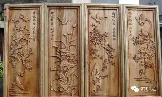 家庭木雕图片大全