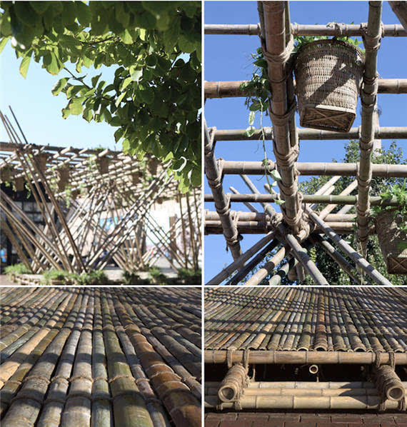 他用竹子打造一栋房子 却未使用一根钉子的照片 - 6