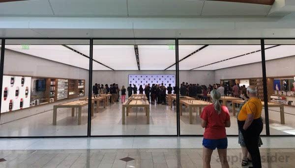 """苹果安纳波利斯零售店用上""""下一代""""设计风格的照片 - 1"""