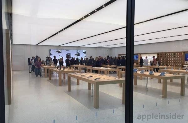 """苹果安纳波利斯零售店用上""""下一代""""设计风格的照片 - 2"""