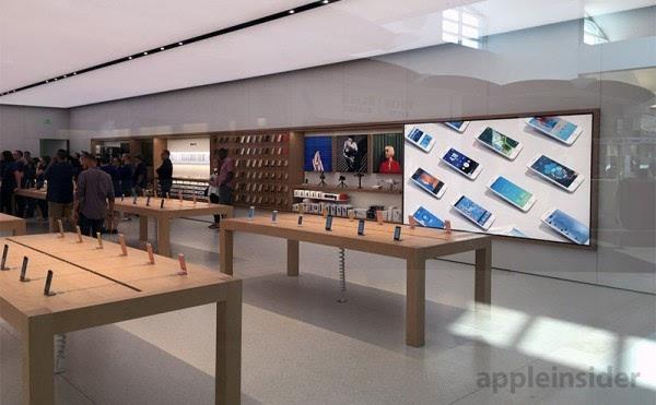 """苹果安纳波利斯零售店用上""""下一代""""设计风格的照片 - 5"""