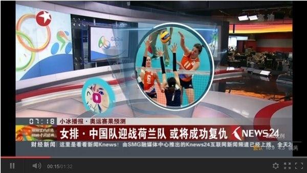 中国女排夺冠?微软小冰赛前是这样预测的的照片 - 1