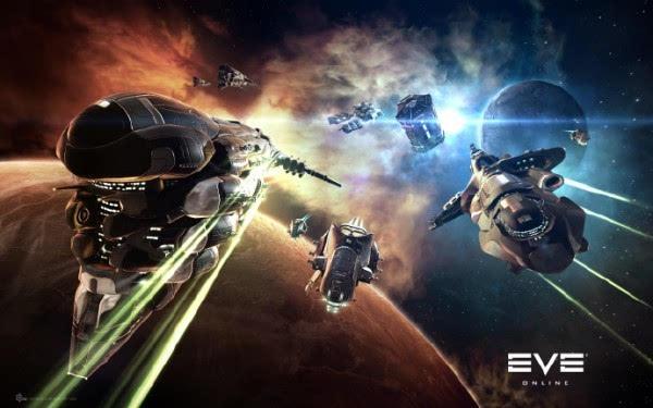 史诗级的燃 《EVE》再迎千人规模级星战的照片