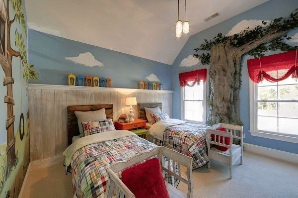 守护童心 儿童卧室装修效果图
