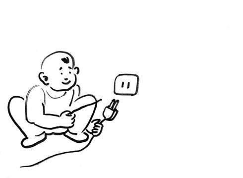 动漫 简笔画 卡通 漫画 手绘 头像 线稿 490_359