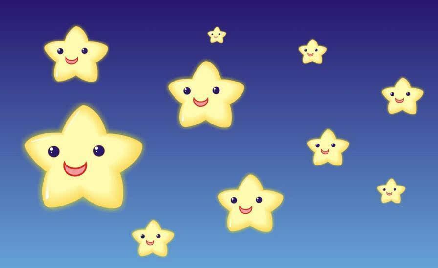 小星星钢琴谱 小星星 儿童钢琴小弹唱 钢琴谱