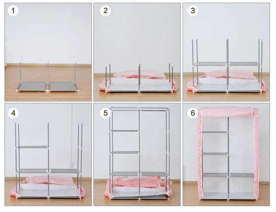 简易布衣柜安装步骤 简易布衣柜通用安装教程