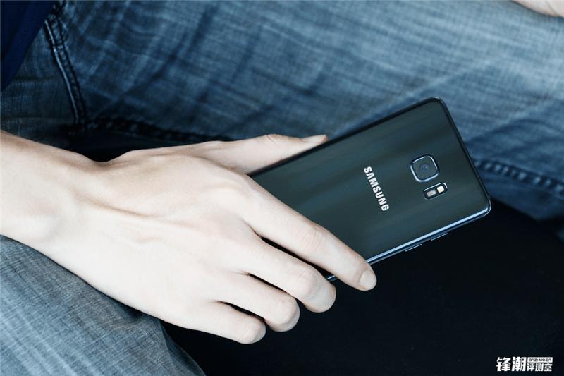 全黑配色三星Galaxy Note7真机图赏的照片 - 17