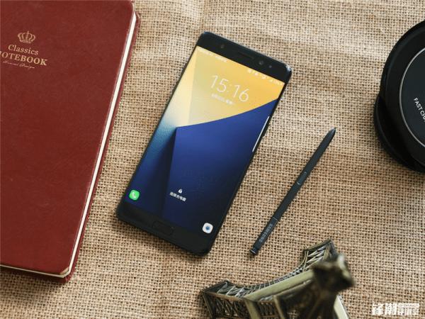 全黑配色三星Galaxy Note7真机图赏的照片 - 3