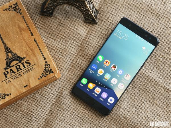 全黑配色三星Galaxy Note7真机图赏的照片 - 1