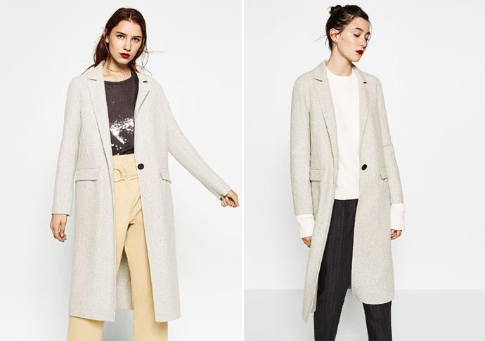 zara的手工制作大衣和一些设计款的羊绒衫1000 就能买到不错的~▼▼