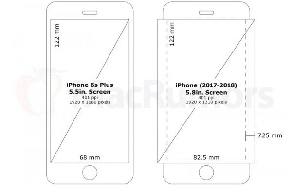 传苹果2018年将发布5.8英寸曲面OLED iPhone的照片 - 2