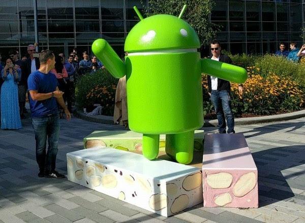 Android牛轧糖上线 暂时只有Nexus用户可下载的照片 - 1