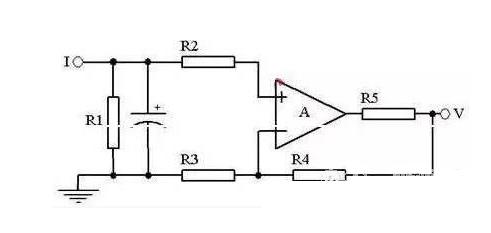 该同相放大电路的放大倍数为:a=1 r4/r3
