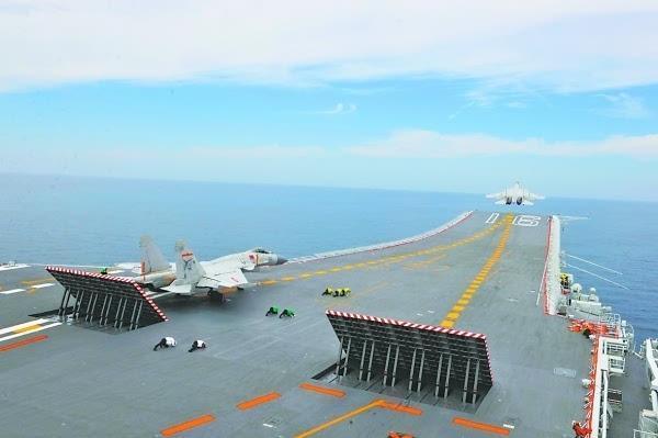 新一批舰载机飞行员航母起降 辽宁号战力再提高 - 香草美人 - 语文乐园