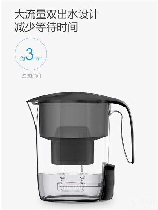 小米众筹新品滤水壶发布:249元/UV紫外杀菌的照片 - 3