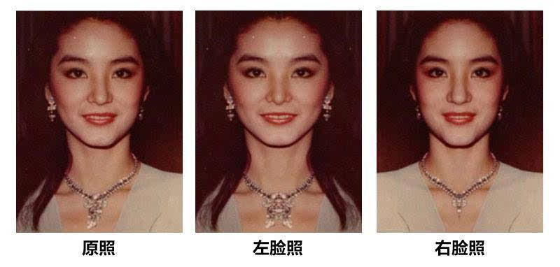 无死角的脸型有模板 范冰冰刘涛江疏影都符合图片