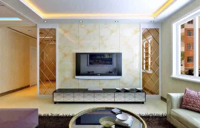 30款瓷砖做的电视背景墙