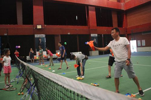 助推青少年体育运动 泰安网球力量又添新军