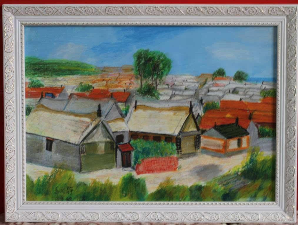 目前,已经收到参赛作品380多幅,涵盖国画,儿童画,素描,水彩(粉)等.图片