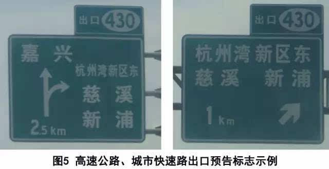 如何用10分钟就能看懂公路指路标牌