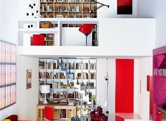 40平米一居室装修 双层单身公寓设计