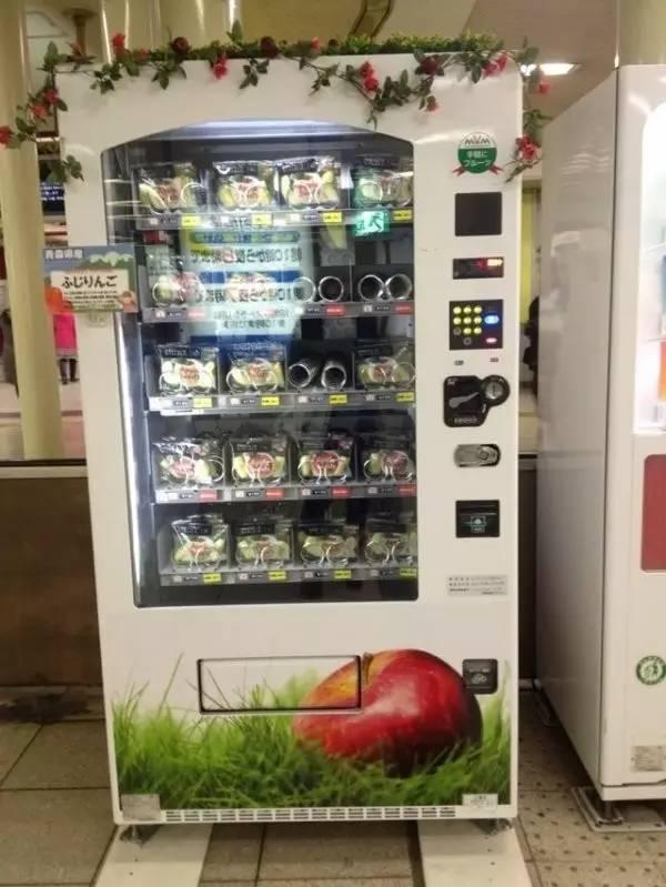 日本自动贩卖机,这些东西居然也卖!