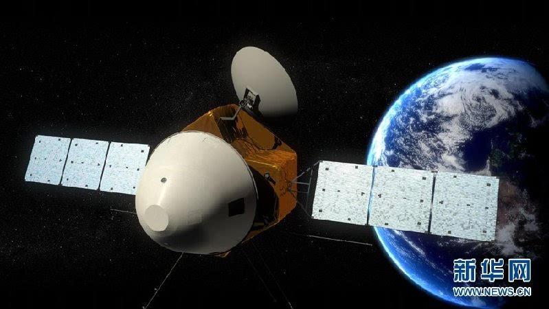 中国首个火星探测器和火星车外观设计构型公布的照片 - 2