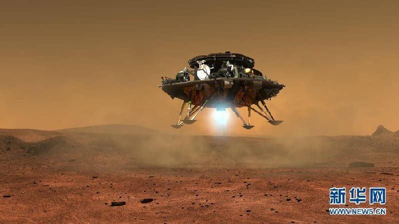 中国首个火星探测器和火星车外观设计构型公布的照片 - 3