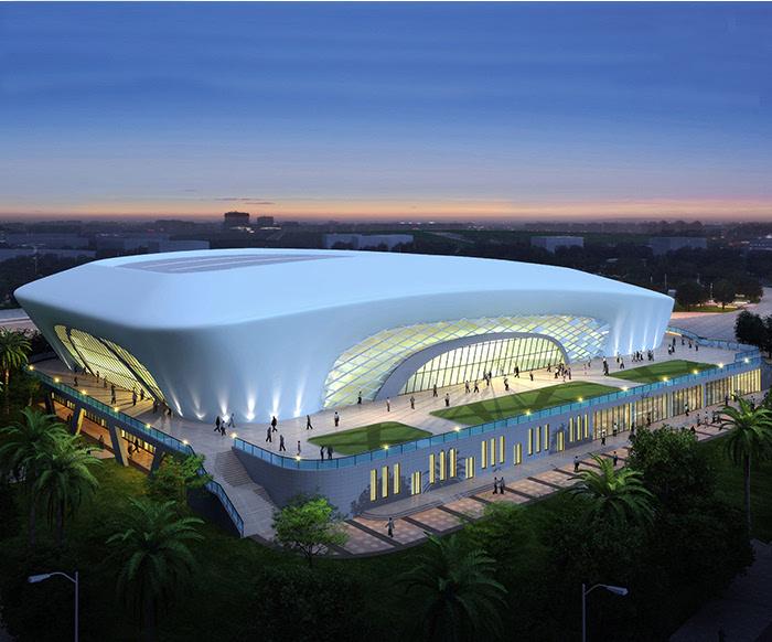 33万平方米,总建筑面积17515平方米,内含一个50米标准游泳池和一个25图片