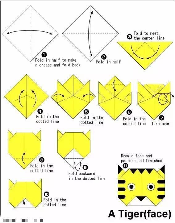 折纸企鹅会动步骤图解