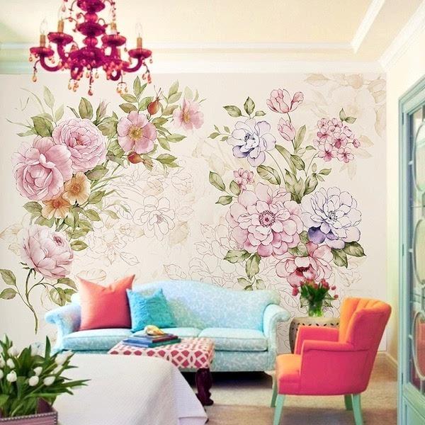 甜美简约欧式风格 小户型电视背景墙装修设计