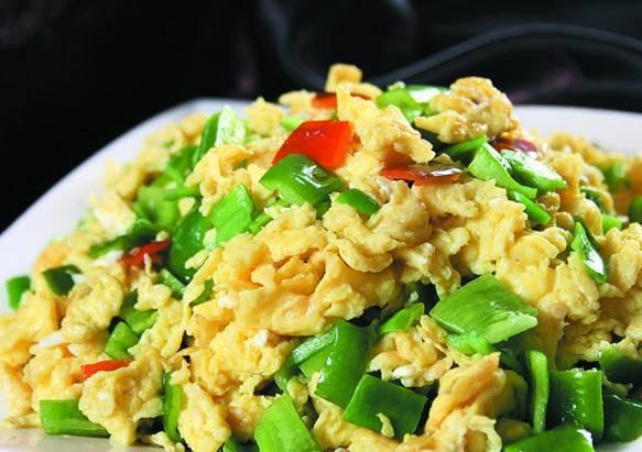 4青椒炒鸡蛋