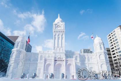 日本节日大全之札幌冰雪节图片